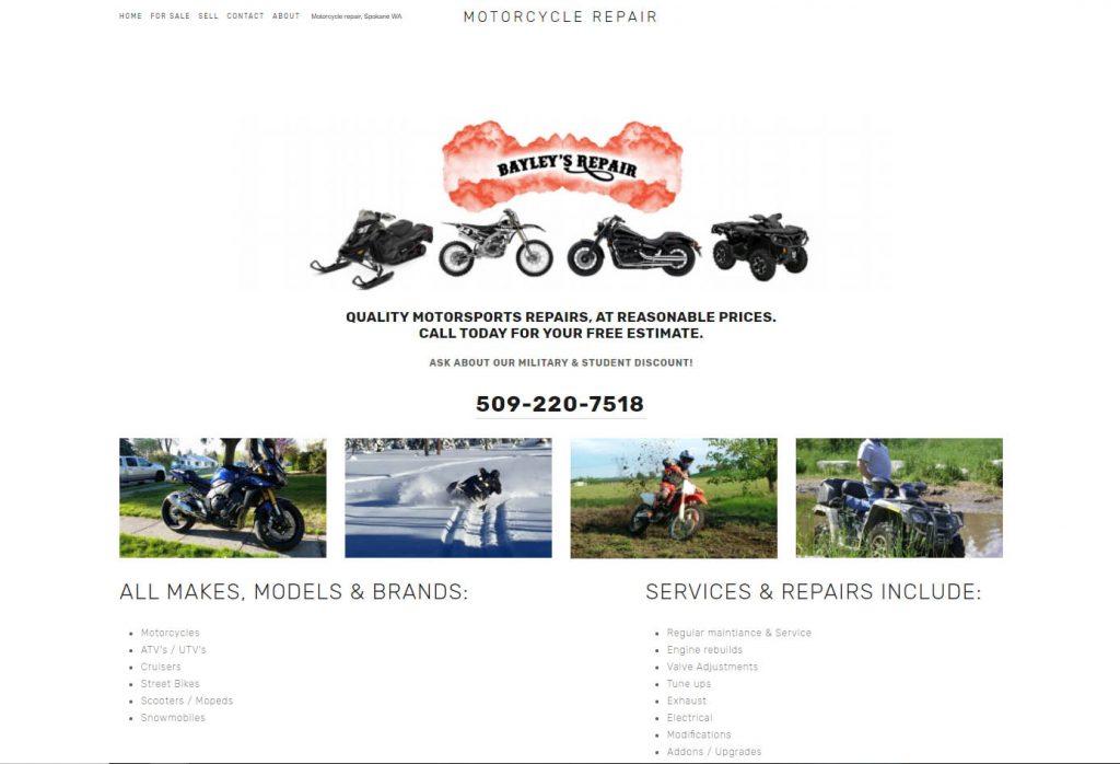 bayleys repair website