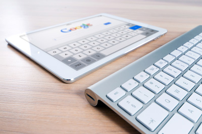 google keyboard and tablet